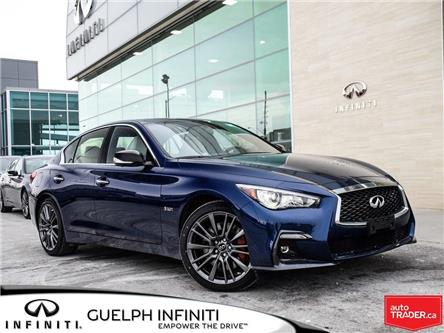 2019 Infiniti Q50 3.0t Red Sport 400 (Stk: I6901) in Guelph - Image 1 of 21