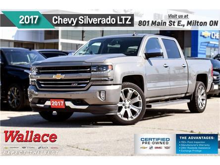 2017 Chevrolet Silverado 1500 LTZ 2LZ/Z71/5.3/TRAILR PK/22s/SUNRF/LTHR (Stk: PL5222) in Milton - Image 1 of 29
