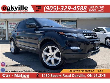 2012 Land Rover Range Rover Evoque PURE PLUS   PANO ROOF   HTD SEATS   NAVI   LEATHER (Stk: P12296) in Oakville - Image 1 of 22