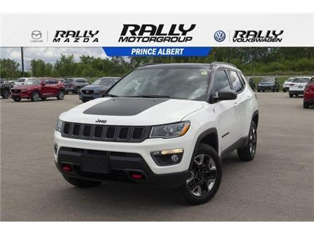 2018 Jeep Compass Trailhawk (Stk: V907) in Prince Albert - Image 1 of 11