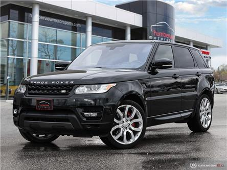 2016 Land Rover Range Rover Sport V8 Supercharged (Stk: 19HMS019) in Mississauga - Image 1 of 27