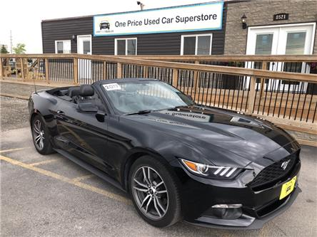 2017 Ford Mustang EcoBoost Premium (Stk: 00131A) in Milton - Image 1 of 26