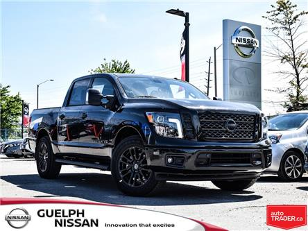 2019 Nissan Titan SV Midnight Edition (Stk: N20189) in Guelph - Image 1 of 27