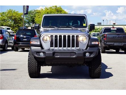 2020 Jeep Gladiator SPORT| FOX LIFT KIT| TECHNOLOGY/TRAILER TOW GRP (Stk: L004L) in Burlington - Image 2 of 43