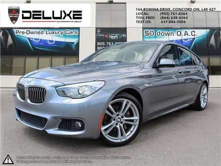 2013 BMW 535i xDrive Gran Turismo (Stk: D0600) in Concord - Image 1 of 18