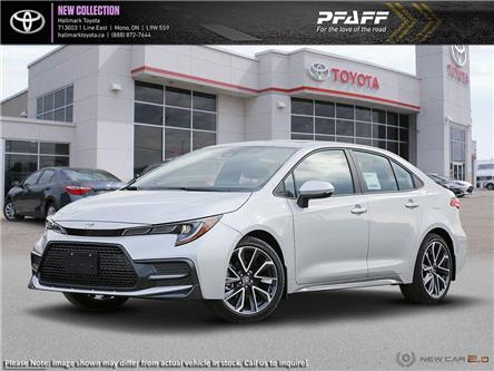 2020 Toyota Corolla 4-door Sedan SE CVT (Stk: H20028) in Orangeville - Image 1 of 24