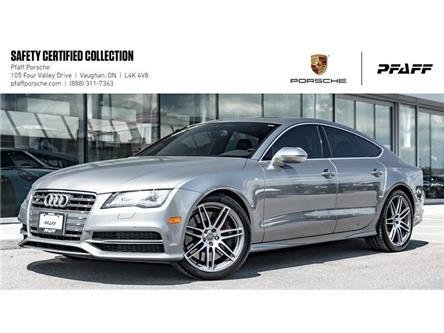 2013 Audi S7 4.0T Sportback 7sp S Tronic qtro (Stk: P12661AA) in Vaughan - Image 1 of 22