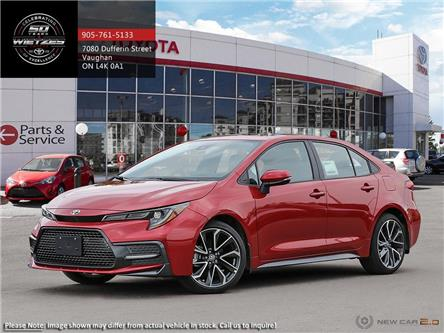 2020 Toyota Corolla XSE (Stk: 68802) in Vaughan - Image 1 of 13