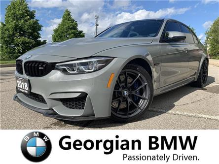 2018 BMW M3 Base (Stk: P1504) in Barrie - Image 1 of 19