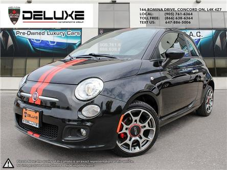 2012 Fiat 500 Sport (Stk: D0587) in Concord - Image 1 of 15