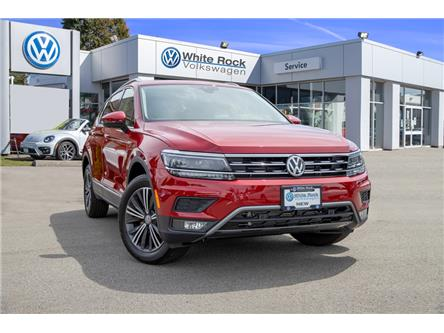 2019 Volkswagen Tiguan Highline (Stk: KT114037) in Vancouver - Image 1 of 28