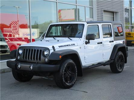 2016 Jeep Wrangler Unlimited Sport (Stk: 6531) in Regina - Image 1 of 22