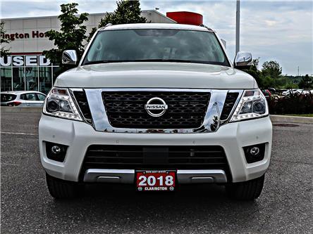 2018 Nissan Armada SL (Stk: J9556636) in Bowmanville - Image 2 of 30
