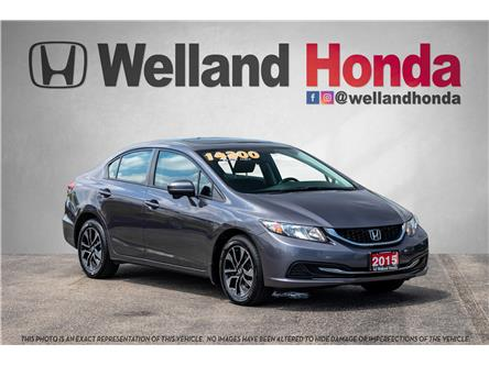 2015 Honda Civic EX (Stk: U19214A) in Welland - Image 1 of 27
