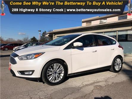 2016 Ford Focus Titanium| Backup Cam| Navi| Bluetooth| Sunroof (Stk: 5256) in Stoney Creek - Image 1 of 30