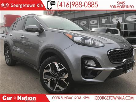 2020 Kia Sportage EX TECH | $237 BI-WEEKLY | PANO ROOF | NAVI | (Stk: NOU20SPET) in Georgetown - Image 1 of 30