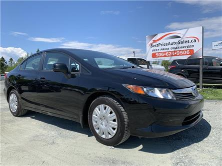 2012 Honda Civic LX (Stk: A2761) in Miramichi - Image 1 of 26