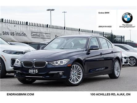 2015 BMW 328i xDrive (Stk: P5891) in Ajax - Image 1 of 22