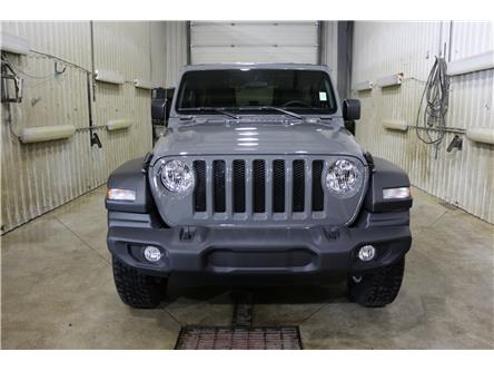 2019 Jeep Wrangler Unlimited Sport (Stk: KT097) in Rocky Mountain House - Image 2 of 22