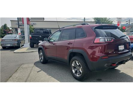 2019 Jeep Cherokee Trailhawk (Stk: 8F7894A) in Duncan - Image 1 of 4