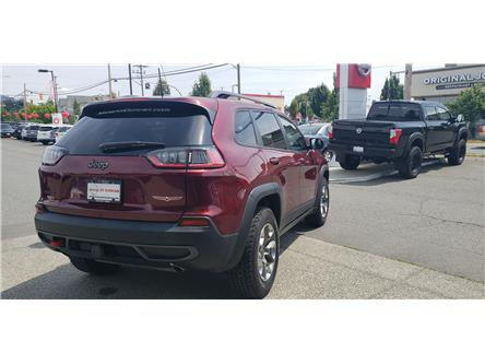 2019 Jeep Cherokee Trailhawk (Stk: 8F7894A) in Duncan - Image 2 of 4