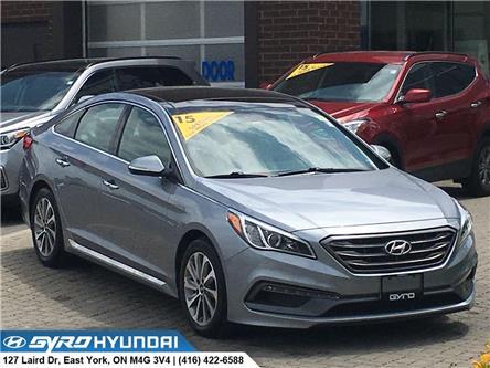 2015 Hyundai Sonata Sport Tech (Stk: H5048) in Toronto - Image 1 of 30