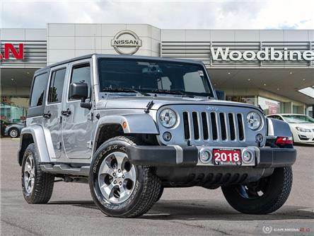 2018 Jeep Wrangler JK Unlimited Sahara (Stk: P7412) in Etobicoke - Image 1 of 20