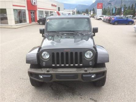 2016 Jeep Wrangler Unlimited Sahara (Stk: 9-5276-0) in Castlegar - Image 2 of 26