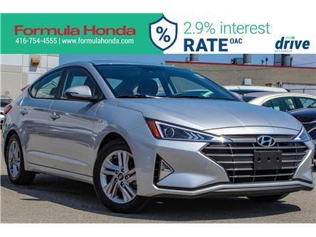 2019 Hyundai Elantra Preferred (Stk: B11304R) in Scarborough - Image 1 of 27
