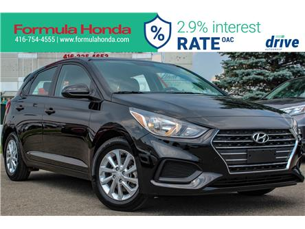 2019 Hyundai Accent Preferred (Stk: B11303R) in Scarborough - Image 1 of 28