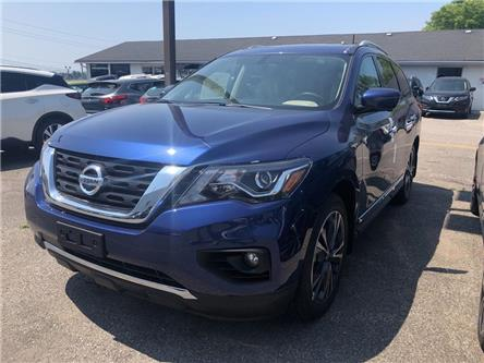 2019 Nissan Pathfinder Platinum (Stk: KC642553) in Whitby - Image 1 of 6