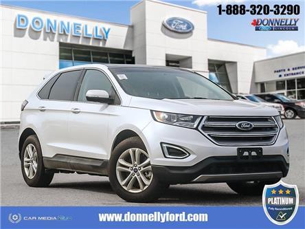 2018 Ford Edge SEL (Stk: PLDUR6186) in Ottawa - Image 1 of 30