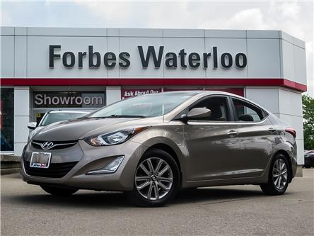 2014 Hyundai Elantra  (Stk: 92203A) in Waterloo - Image 1 of 23