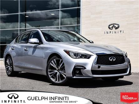 2019 Infiniti Q50 3.0t Signature Edition (Stk: I6961) in Guelph - Image 1 of 22