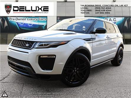 2016 Land Rover Range Rover Evoque HSE DYNAMIC (Stk: D0611) in Concord - Image 1 of 30