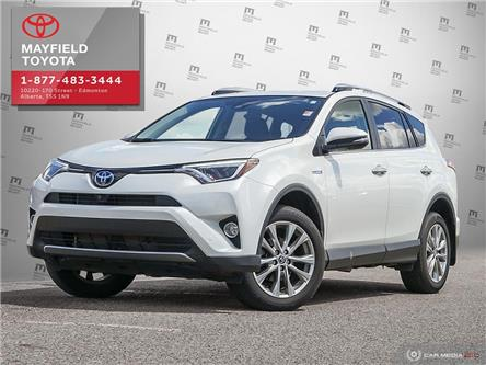 2018 Toyota RAV4 Hybrid Limited (Stk: 190791A) in Edmonton - Image 1 of 20
