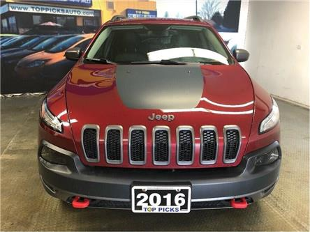 2016 Jeep Cherokee Trailhawk (Stk: 128742) in NORTH BAY - Image 2 of 30