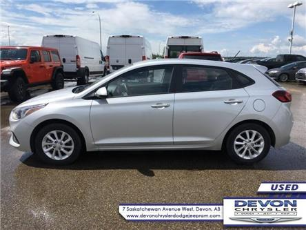 2019 Hyundai Accent Preferred (Stk: PW0464) in Devon - Image 1 of 9