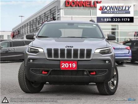 2019 Jeep Cherokee Trailhawk (Stk: CLKUR2258) in Kanata - Image 2 of 28