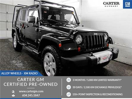 2012 Jeep Wrangler Unlimited Sahara (Stk: 89-49001) in Burnaby - Image 1 of 23