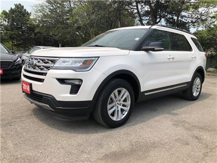 2018 Ford Explorer XLT| AWD| Navi| Backup Cam| Leather| Sunroof (Stk: 5280) in Stoney Creek - Image 1 of 18