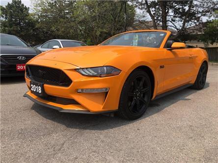 2018 Ford Mustang GT Premium| Navi| Backup Cam| Heat Vent Seat (Stk: 5330) in Stoney Creek - Image 2 of 20