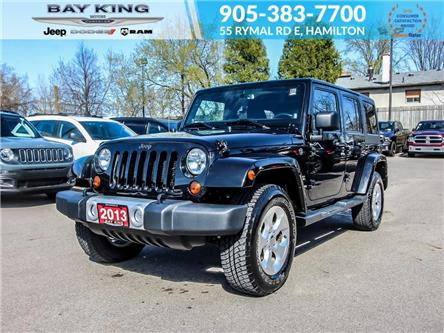 2013 Jeep Wrangler Unlimited Sahara (Stk: 6638A) in Hamilton - Image 1 of 22