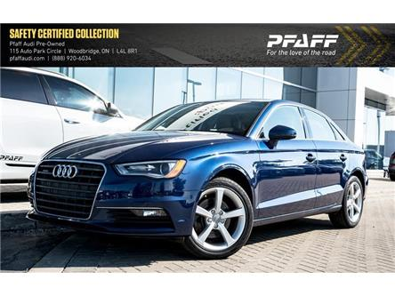 2016 Audi A3 2.0T Komfort (Stk: C6897) in Woodbridge - Image 1 of 22
