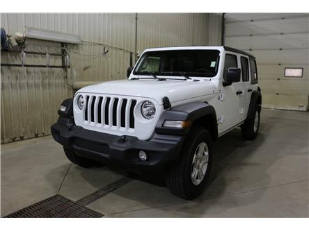 2019 Jeep Wrangler Unlimited Sport (Stk: KT098) in Rocky Mountain House - Image 1 of 24