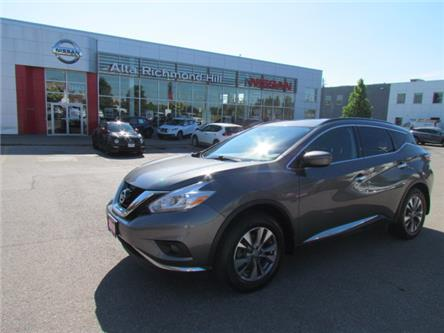 2016 Nissan Murano SV (Stk: RY19M043A) in Richmond Hill - Image 1 of 41