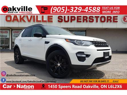 2016 Land Rover Discovery Sport HSE | LUXURY | PANO | 7 PASS | BLACK DESIGN PKG (Stk: P12329) in Oakville - Image 1 of 23