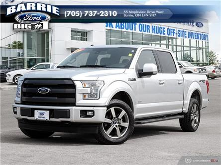2017 Ford F-150 Lariat (Stk: T0684A) in Barrie - Image 1 of 27