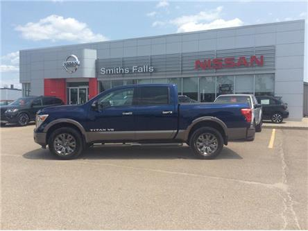 2018 Nissan Titan Platinum (Stk: P1959) in Smiths Falls - Image 1 of 12