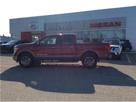 2019 Nissan Titan Platinum (Stk: 19-281) in Smiths Falls - Image 1 of 12